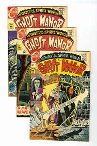 Ghost Manor Group (Charlton, 1968-71) Condition: Average VF/NM unless otherwise stated.... (Total: 13 Comic Books)
