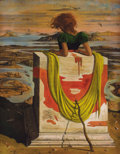 Paintings, EUGENE BERMAN (Russian/American, 1899-1972). Solitude, 1941. Oil on canvas. 29 x 23 inches (73.7 x 58.4 cm). Initialed a...