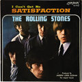 Music Memorabilia:Recordings, Rolling Stones Satisfaction Picture Sleeve (London 9766,1965). Not the rarest of the Bad Boys' picture sleeves, but rar...(Total: 1 Item)