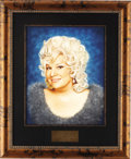 "Movie/TV Memorabilia:Original Art, Renee Taylor Beverly Hills CENSORED Club Portrait. A 16"" x 20""pastel portrait of comedienne Renee Taylor by artist Picarola...(Total: 1 Item)"