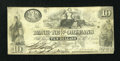 Obsoletes By State:Louisiana, New Orleans, Bank of New Orleans $10 Feb. 5, 1862. ...
