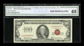 Small Size:Legal Tender Notes, Fr. 1551 $100 1966A Legal Tender Note. CGA Gem Uncirculated 65.. ...
