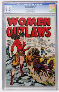 Women Outlaws #2 (Fox Features Syndicate, 1948) CGC VF+ 8.5 Off-white to white pages