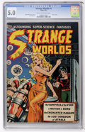 Golden Age (1938-1955):Science Fiction, Strange Worlds #4 (Avon, 1951) CGC VG/FN 5.0 Cream to off-whitepages....