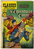 Golden Age (1938-1955):Classics Illustrated, Classics Illustrated #53 A Christmas Carol - First Edition (Gilberton, 1948) Condition: VG....