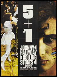 "5 + 1 (France G.E.F., 1970). French Petite (23.5"" X 31.5""). Rock and Roll"