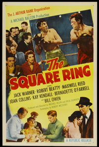 """The Square Ring (Republic, 1955). One Sheet (27"""" X 41""""). Sports"""