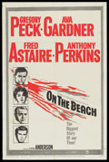 "Movie Posters:Science Fiction, On the Beach (United Artists, 1959). One Sheet (27"" X 41""). Science Fiction...."