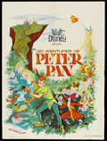 "Movie Posters:Animated, Peter Pan (Walt Disney Productions, R-1970s). French Petite (23.5""X 31.5""). Animated...."