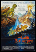 "Movie Posters:Animated, The Land Before Time (Universal, 1988). One Sheet (27"" X 40"") DS. Animated...."