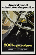 """Movie Posters:Science Fiction, 2001: A Space Odyssey (MGM/UA, R-1980). One Sheet (27"""" X 41"""").Science Fiction...."""