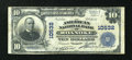 National Bank Notes:Virginia, Roanoke, VA - $10 1902 Plain Back Fr. 631 The American NB Ch. #10532. ...