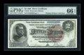 Large Size:Silver Certificates, Fr. 244 $2 1886 Silver Certificate PMG Gem Uncirculated 66 EPQ....