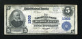 National Bank Notes:Vermont, Derby Line, VT - $5 1902 Plain Back Fr. 598 The NB of Derby Line Ch. # 1368. ...