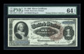 Large Size:Silver Certificates, Fr. 220 $1 1886 Silver Certificate PMG Choice Uncirculated 64EPQ....