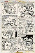 Original Comic Art:Panel Pages, Sal Buscema and Mike Esposito - Marvel Team-Up #45, Spider-Man and Killraven page 23 Original Art (Marvel, 1976)....