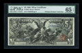 Large Size:Silver Certificates, Fr. 269 $5 1896 Silver Certificate PMG Gem Uncirculated 65 EPQ....