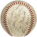 Autographs:Baseballs, 1938 St. Louis Cardinals Team Signed Baseball. An extraordinarycompilation of Cooperstown talent paired with phenomenal co...