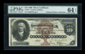 Large Size:Silver Certificates, Fr. 287 $10 1880 Silver Certificate PMG Choice Uncirculated 64 EPQ....
