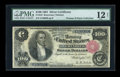 Large Size:Silver Certificates, Fr. 343 $100 1891 Silver Certificate PMG Fine 12 NET....