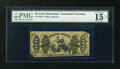 Fractional Currency:Third Issue, Fr. 1344 50c Third Issue Justice PMG Choice Fine 15 Net....