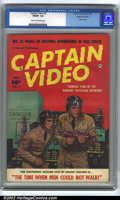 Golden Age (1938-1955):Science Fiction, Captain Video #2 Mohawk Valley pedigree (Fawcett, 1951). CGC FN/VF7.0 Cream to off-white pages. Used in Seduction of the ...