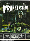 Silver Age (1956-1969):Horror, Castle of Frankenstein #2 and #4 (Gothic Castle Printing, 1962).Classic monster movie magazine, this lot features two rare ...