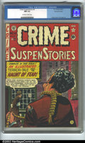 Golden Age (1938-1955):Crime, Crime SuspenStories #6 Gaines File pedigree 9/12 (EC, 1953). CGC NM 9.4 Off-white to white pages. Overstreet 2001 NM 9.4 val...