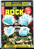 Bronze Age (1970-1979):War, DC 100-Page Super Spectacular #DC-16 Sgt. Rock (DC, 1973).Condition: FN....