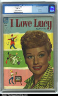 Golden Age (1938-1955):Miscellaneous, Four Color Comics #535 I Love Lucy (Dell, 1954). CGC FN+ 6.5 Cream to off-white pages. Overstreet 2001 FN 6.0 value = $150....