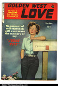 Golden Age (1938-1955):Romance, Golden West Love #2 (Kirby Publishing, 1949). Condition: VG....