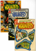 Bronze Age (1970-1979):Horror, Haunted Group (Charlton, 1971-79) Condition: Average VF+....(Total: 13 Comic Books)