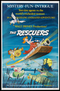 "Movie Posters:Animated, The Rescuers (Buena Vista, 1977). One Sheet (27"" X 41"").Animated...."