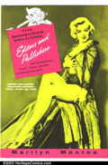 Golden Age (1938-1955):Non-Fiction, Marilyn Monroe 1955 ANPA Con Menu (No Publisher, 1955). Fold-outmenu from a dinner given at the 1955 ANPA Convention, this thre...