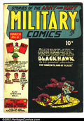 Golden Age (1938-1955):War, Military Comics #8 (Comic Magazines, 1942). Condition: GD+....
