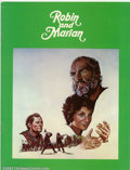Movie Posters:Miscellaneous, Movie Program: Robin and Marian (1975). Photos and information on the film. Condition: VF-....
