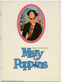 Movie Posters:Miscellaneous, Movie Program: Mary Poppins (1964). Photos and information on thefilm. Condition: FN....