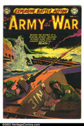 Golden Age (1938-1955):War, Our Army At War #6 (DC, 1953). Condition: VG/FN....
