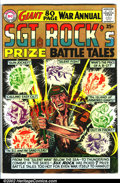 Silver Age (1956-1969):War, Sgt. Rock's Prize Battle Tales War Annual 80 Pg. Giant (DC, 1964). Condition: FN+....