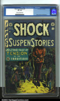 Golden Age (1938-1955):Horror, Shock SuspenStories #5 (EC, 1952). CGC VF+ 8.5 Cream to off-whitepages. Overstreet 2001 FN 6.0 value = $99; NM 9.4 value = ...