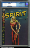 Golden Age (1938-1955):Superhero, The Spirit #22 Crowley pedigree (Quality, 1950). CGC VF 8.0 Cream to off-white pages. Crowley copy. Overstreet 2001 FN 6.0 v...