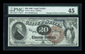 Large Size:Legal Tender Notes, Fr. 131 $20 1880 Legal Tender PMG Choice Extremely Fine 45....
