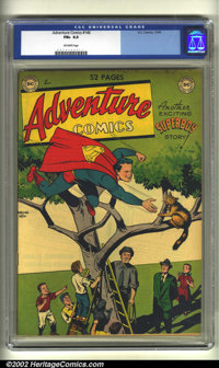 Adventure Comics #146 (DC, 1949) CGC FN+ 6.5 Off-white pages. Overstreet 2002 FN 6.0 value = $150