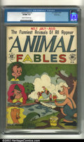 Golden Age (1938-1955):Funny Animal, Animal Fables #1 Windy City pedigree (EC, 1946) CGC VF/NM 9.0 Cream to off-white pages. Overstreet 2002 NM 9.4 value = $450....
