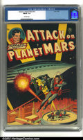 Golden Age (1938-1955):Science Fiction, Attack on Planet Mars #nn (Avon, 1951) CGC FN/VF 7.0 Off-whitepages. Overstreet 2002 FN 6.0 value = $225; VF 8.0 value = $4...