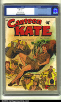 Golden Age (1938-1955):Miscellaneous, Canteen Kate #1 (St. John, 1952) CGC FN 6.0 Cream to off-white pages. Overstreet 2002 FN 6.0 value = $183. ...