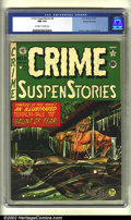 Golden Age (1938-1955):Crime, Crime SuspenStories #5 Gaines File pedigree (EC, 1951) CGC NM 9.4 Off-white to white pages. Overstreet 2002 NM 9.4 value = $...