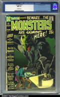 Bronze Age (1970-1979):Horror, DC Special #11 (DC, 1971) CGC NM 9.4 Off-white pages. Neal Adamscover....