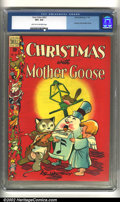 Golden Age (1938-1955):Funny Animal, Four Color Comics #201 (Dell, 1948) CGC VF+ 8.5 Light tan tooff-white pages. Christmas with Mother Goose by Walt Kelly. Ove...