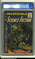 Golden Age (1938-1955):Science Fiction, Incredible Science Fiction #31 (EC, 1955) CGC VG 4.0 Off-white towhite pages. Overstreet 2002 GD 2.0 value = $37; FN 6.0 va...